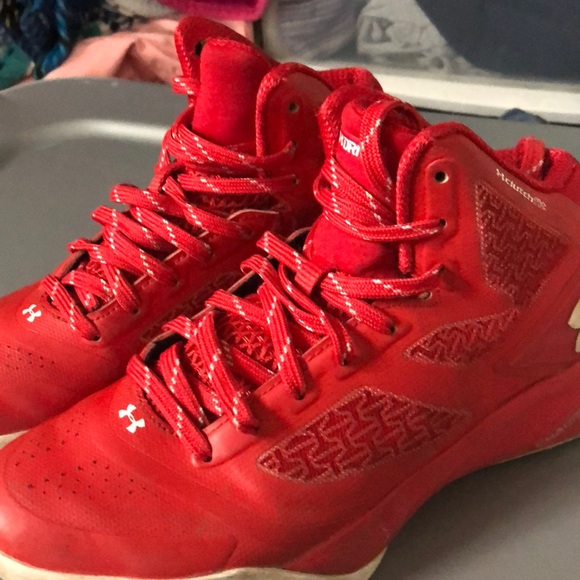 Under Armour Shoes | Red Under Armor